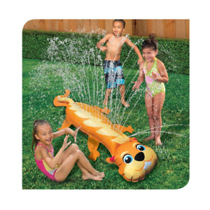 Banzai Sprinkler Toy Chipmunk Inflatable Fun For Kids Summer Backyards Spray 5ft
