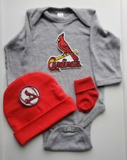 Cardinals baby/infant clothes ST. Louis newborn/baby Cardinals baby shower