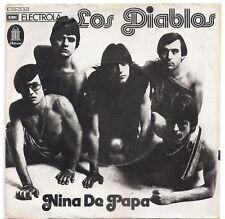 """Los Diablos (2) – Niña De Papa / El Tiempo Pasa * Vinyl 7"""""""