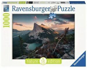 Ravensburger Puzzle 1000 Pezzi - Tramonto in Montagna