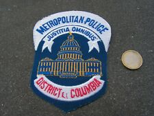 PATCH POLICE ECUSSON COLLECTION  USA   police colombia omnibus