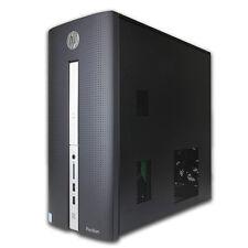 HP Pavilion 510 Intel i3-6100T 8GB 1TB HDD Windows 10 Black Desktop