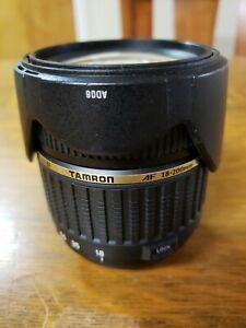 Tamron LD 18-200mm f/3.5-6.3 LD Di-II XR Aspherical AF Lens For Nikon