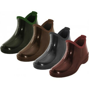 New Women's Short Rain Boots Garden Ankle Shoes Fashion Print Colors, Size: 5-11