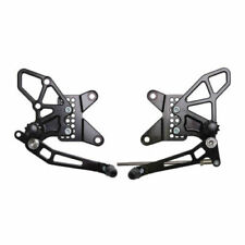 Vortex V2 Adjustable Rearsets Kawasaki ZX-6R 2013-2018