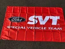 Svt Ford Special Vehicle Team Cobra Lightning Contour Focus Showroom Dlr Banner