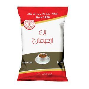 izhiman Turkish Ground Coffee with Cardamom 100% Arabica Medium Roast 250 gram