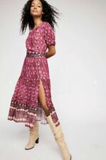 NWT $158 Jen/'s Pirate Booty Tangier Midi Dress S