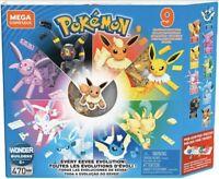 Mega Construx Pokemon Evolution Every Eevee 470 Pieces Set New 2019