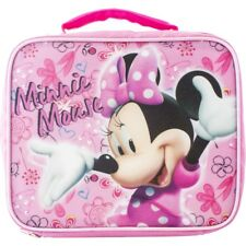 MINNIE MOUSE INSULATED LUNCH TOTE BAG BOX KIT SAC NEW