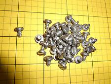 Stainless steel sheet metal screws, #8 X 1/4 slotted pan head, 50 ea.