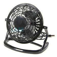 Ultra-Quiet USB Powered Mini Desk Fan For Notebook PC (Black) USA Seller!