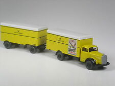 Belle: wiking mercedes L 6600 valise hängerzug Bundespost rapidement paquet