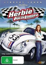 HERBIE - Fully Loaded DVD Movie VW BEETLE LOVEBUG Walt Disney BRAND NEW R4