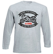 BMW K1200RS - GREY LONG SLEEVED TSHIRT- ALL SIZES IN STOCK
