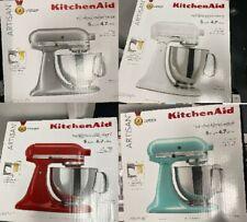 New KitchenAid Artisan 5 Quart Tilt-Head Stand Mixer KSM150PSPM