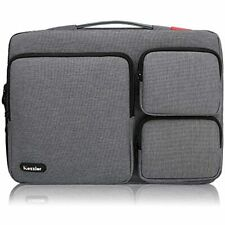 ICozzier 13-13.3 Inch Thri-Sidepocket Laptop Sleeve Electronic Accessories Bag