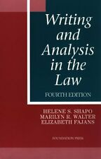 Writing and Analysis in the Law (University Casebo