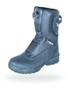 HMK Women's Size 7 Carbon BOA Black Snowmobile Insulated Waterproof Snow Boot