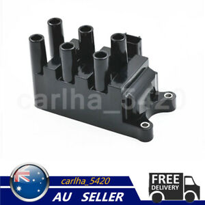 Ignition Coil Pack Fits Ford Falcon AU Series 2 3 XR6 4.0L Cougar Mazda MPV 2.5L