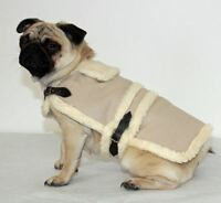 Cosipet Flying Jacket Dog Coat Fur Lined made in the UK
