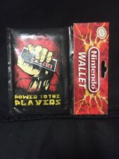 Rare Nintendo NES Controller POWER TO THE PLAYERS Tri-Fold Wallet