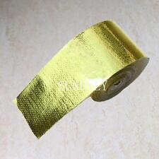 """REFLECT-A-GOLD TAPE - 2"""" x 30' ROLL - HIGH TEMPERATURE HEAT REFLECTIVE"""