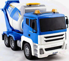 R/C Radio Control CEMENT MIXER TRUCK 1/18 Large Construction Truck  + Sounds