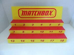 Matchbox  Display for Matchbox  cars and trucks NEW
