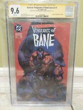 Batman Vengeance of Bane #1 (1st Print) CGC Sign & sketch 9.6 2x Dixon & Nolan