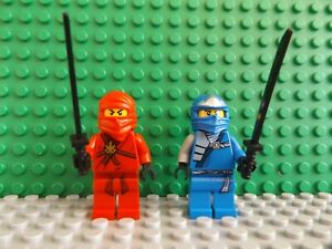 Brand New LEGO Ninjago KAI and JAY ZX The Golden Weapons Mini Figure Weapon