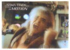 STAR TREK MOVIES IN MOTION (2008)--Lenticular/Motion Promo Card #P1: Khan!^