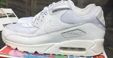 nike air max 90 Essential Triple White Men's Size 10 Uk Trainers 95 1 Leather