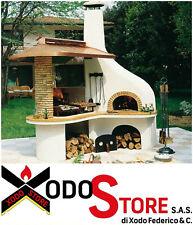 Barbecue a legna e carbonella PALAZZETTI modello VULCANO - BBQ chiama per SCONTO