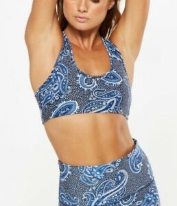 Womens Cotton On Body Active Gym Crop Top Sports Bra Running Yoga Ladies Size S