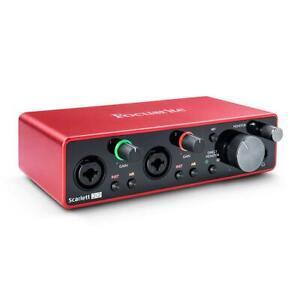Focusrite Scarlett 2i2 3rd Generation USB Audio Interface