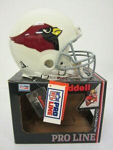 St Louis /Arizona Cardinals Riddell Pro Line Authentic Full Size Football Helmet