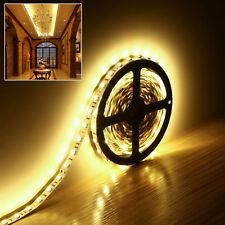 24V 5M 300 LEDS 5050 SMD warmweiß Streifen Stripes Leiste Lichterkette String