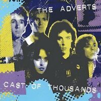 "Adverts - Cast of Thousands (NEW 12"" VINYL LP)"