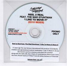 (GJ441) Reel 2 Real ft The Mad Stuntman, I Like To Move It (Mixes) - 2010 DJ CD