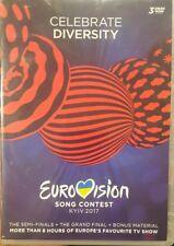 EUROVISION SONG CONTEST KYIV KIEV 2017 RARE DELETED PAL DVD MUSIC DOCUMENTARY