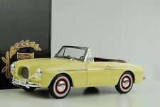 Volvo P1900 Sport Convertible 1956 light yellow 1:18 BOS