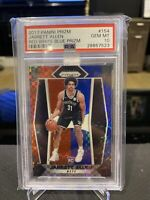 2017 PANINI PRIZM RED WHITE BLUE #154 JARRETT ALLEN RC PSA 10