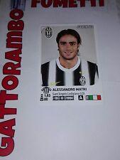 Figurine Calciatori N.240 Matri Juventus Magazzino - Anno 2011-2012 Panini