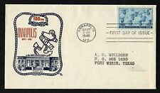 #935 3c WWII Navy- Annapolis - Cachet Craft FDC