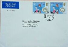 GREAT BRITAIN 1981 ROYAL COVER TO SOUTH AFRICA WITH BALMORAL CASTLE POSTMARK