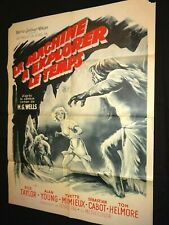 LA MACHINE A EXPLORER LE TEMPS the time machine les morlock 1960 affiche cinema