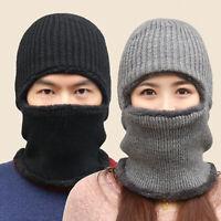 Winter Beanie Hat Neck Warmer Fleece Balaclava Snow Ski Cap Face Mask Men Women