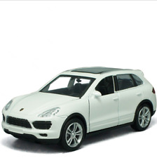 Porsche Cayenne SUV 1:32 Model Cars Toys Sound & Light Alloy Diecast Gifts White