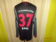 1.FC Kaiserslautern uhlsport Langarm Matchworn Trikot 2012/13 + Nr.37 Karl Gr.XL